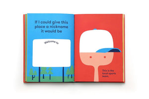 Go! (Red): A Kids' Interactive Travel Diary and Journal