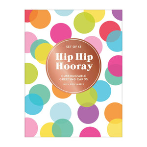 Hip Hip Hooray DIY Greeting Card Folio