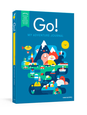 Go! (Blue): A Kids' Interactive Travel Diary and Journal