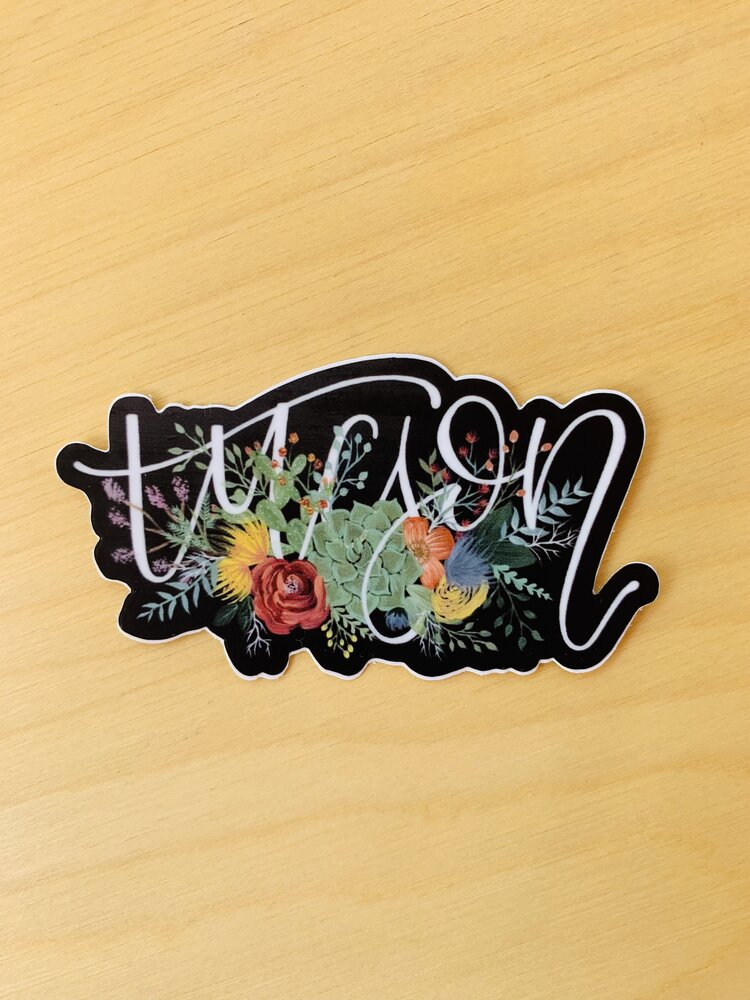 Tucson Floral Sticker by Selah and Bloom
