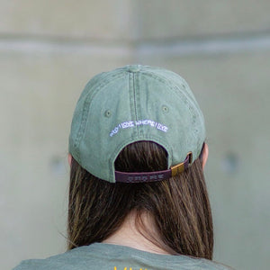 Cactus Dad Hat | Olive Green
