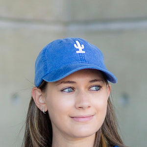Cactus Dad Hat | Royal Blue