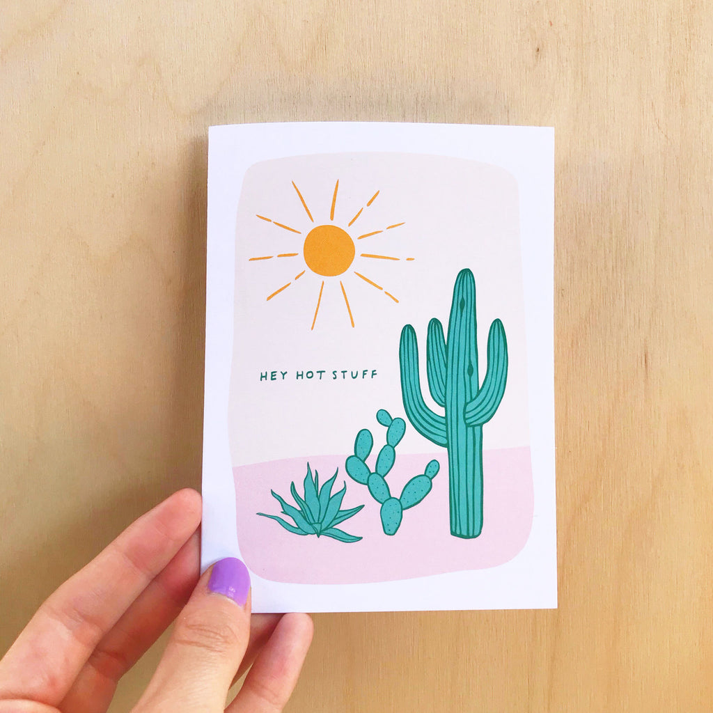 Hot Stuff Greeting Card