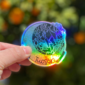 Tucson Holographic Sticker