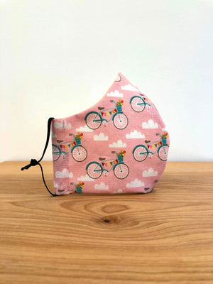 Mask - Pink Bicycle
