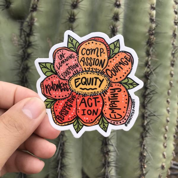 Equity Sticker