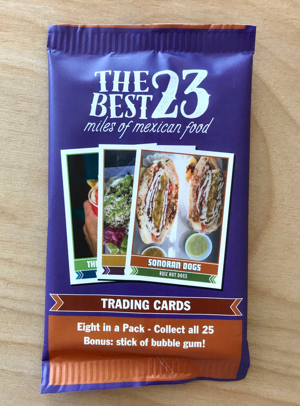 Trading Cards | Best 23 Miles of Mexican Food