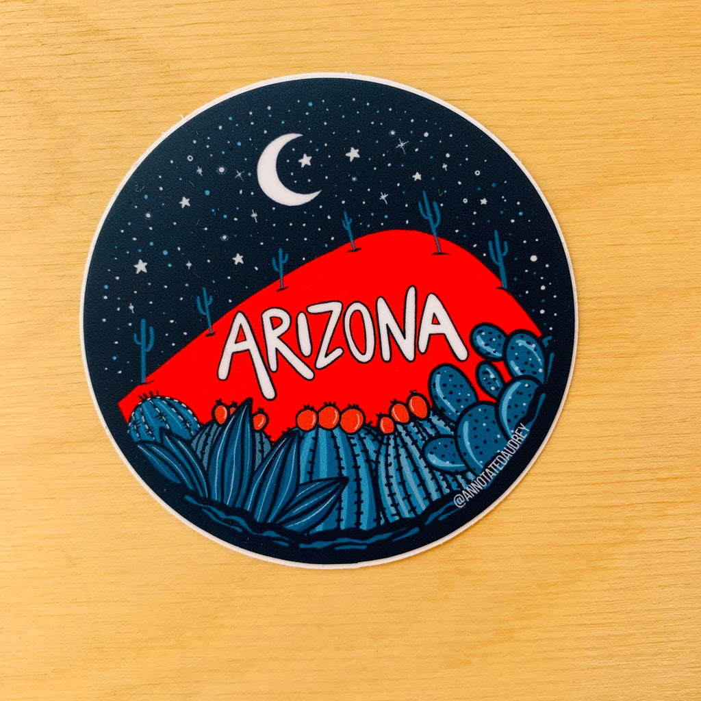 AZ Mountain Sticker