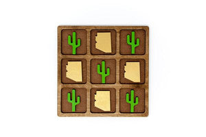 Arizona vs. Cactus Tic-Tac-Toe