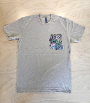 AZ Pocket Tee | Succulents