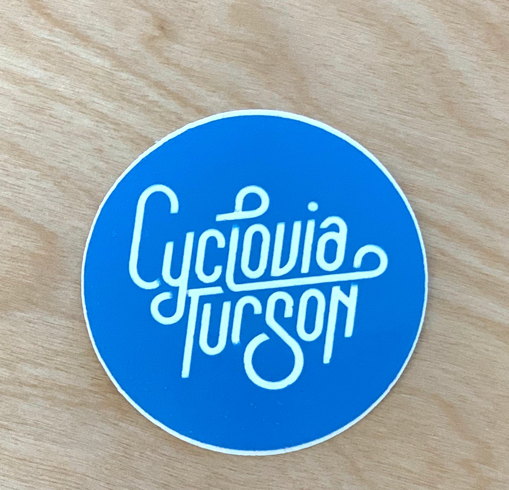 Cyclovia Tucson Stickers