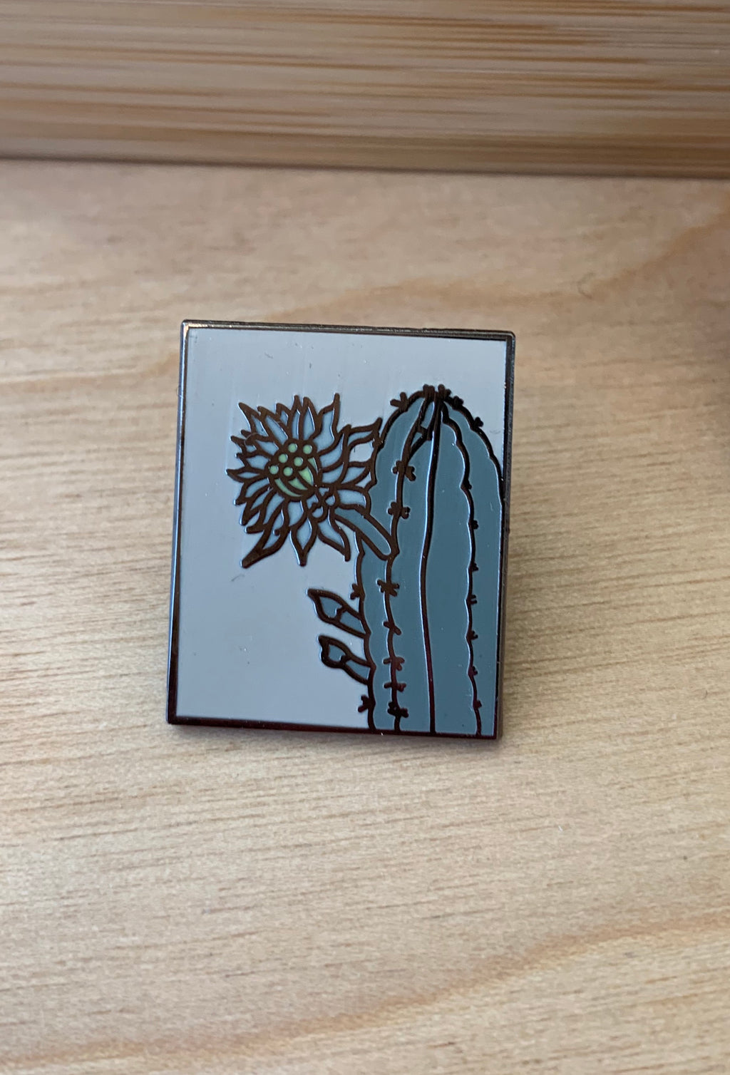 Saguaro Bloom Pin