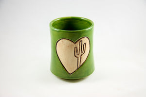 Saguaro Carved Sipping Cup