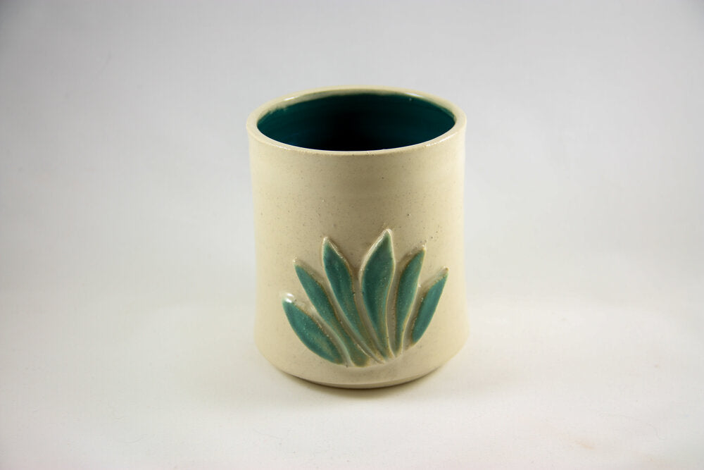 Agave White Sipping Cup