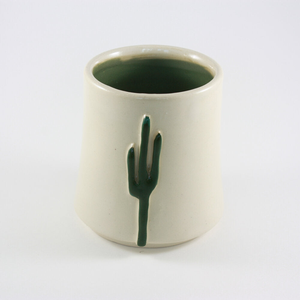 Saguaro White Sipping Cup