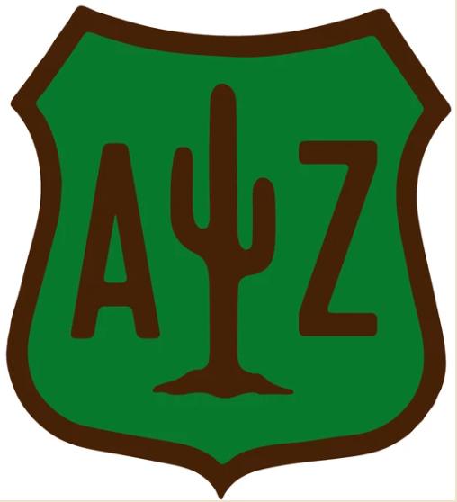 Arizona Saguaro Badge Sticker