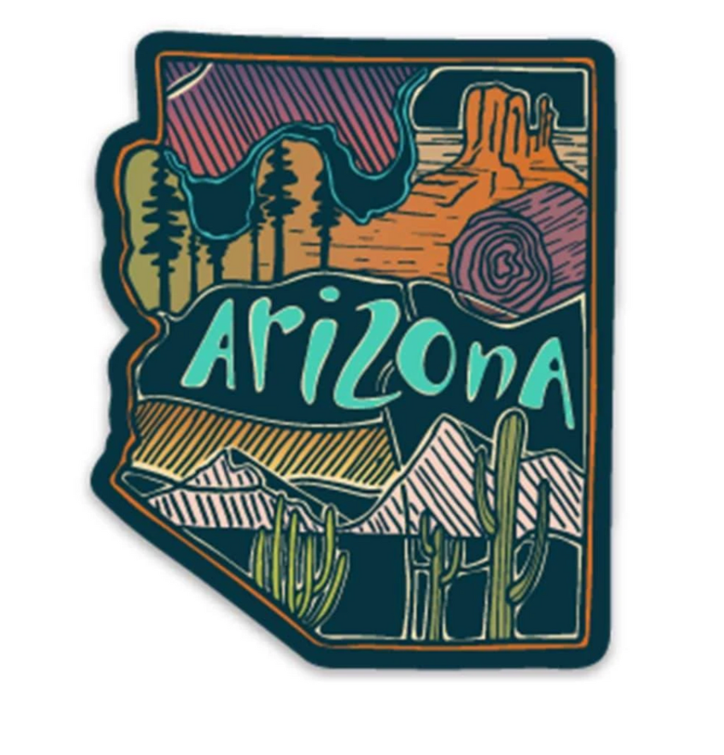 AZ Love Sticker