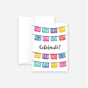 Celebrate Flags Greeting Card