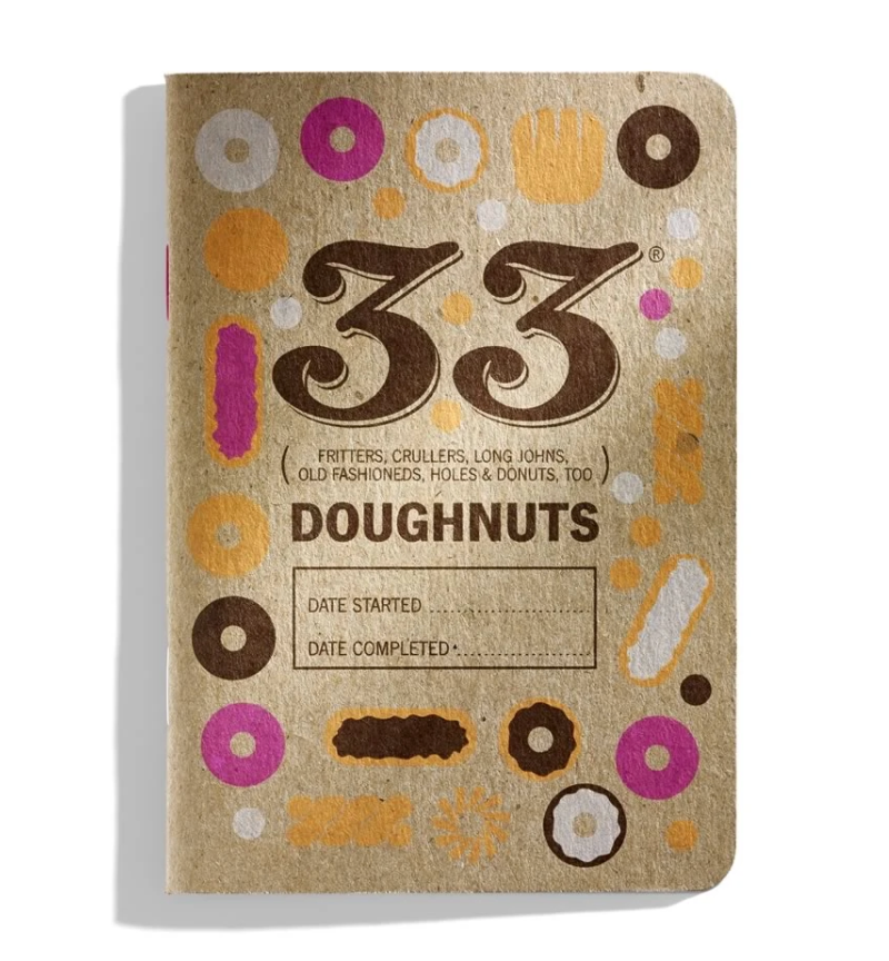 33 Doughnuts Journal