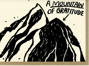 Mountain of Gratitude Card