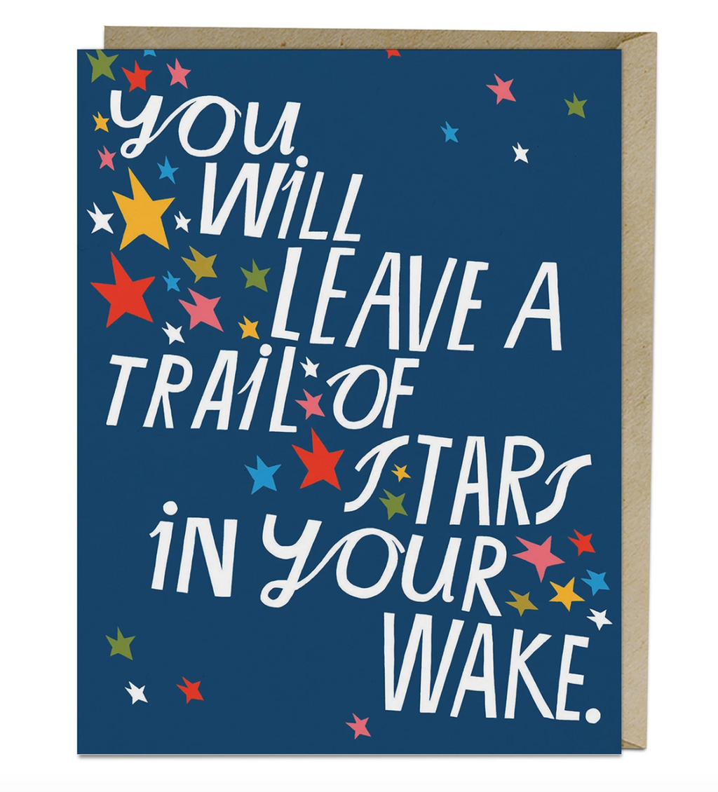Trail of Stars Card