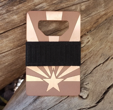 Spine Wallet | Arizona Flag