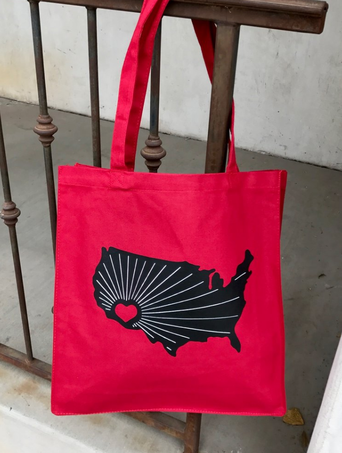 Arizona Heart Tote
