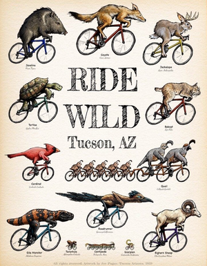 Ride Wild Poster