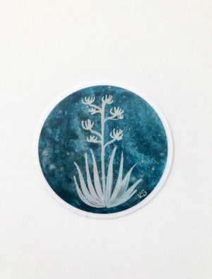 Blue Agave Sticker