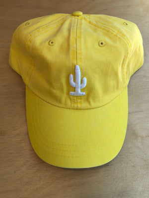 Cactus Dad Hat | Canary Yellow