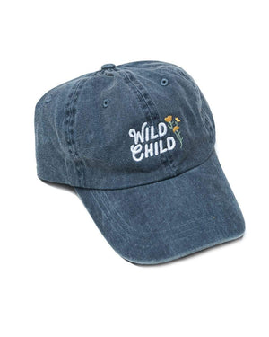 Wild Child Dad Hat | Faded Navy