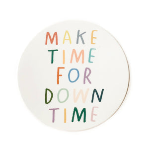 Make Time Sticker
