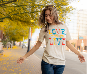 Love Where You Live Shirt