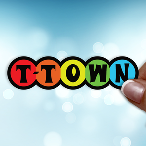 T-Town Plush Sticker