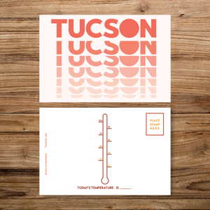 Tucson Sunset Postcard