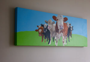 Looking For Trouble? 110cm x 40cm.