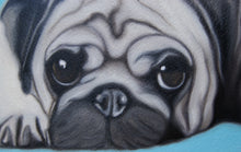 Load image into Gallery viewer, Pug Love. 30cm x 21cm.