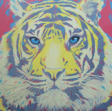 Load image into Gallery viewer, Disco Tiger 100cm x 100cm