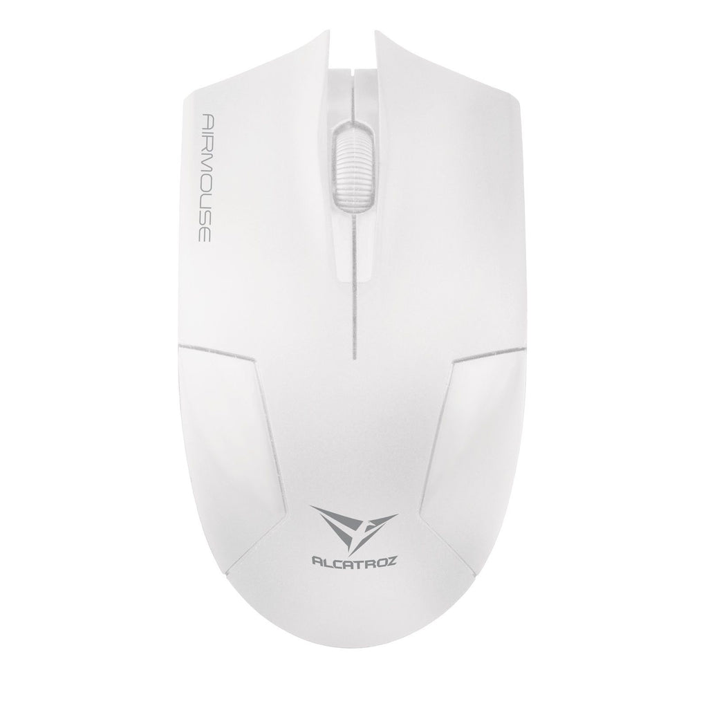 MOUSE ALCATROZ WIRELESS WHITE - planetcomputeronline