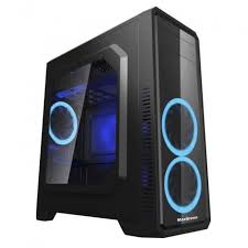 CASE GAMEMAX G561 BLACK WITHOUT FAN - planetcomputeronline