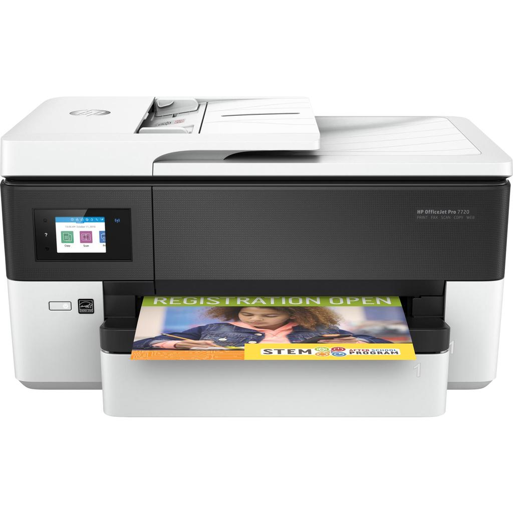 HP OfficeJet Pro 7720 Wide Format All-in-One Printer - planetcomputeronline