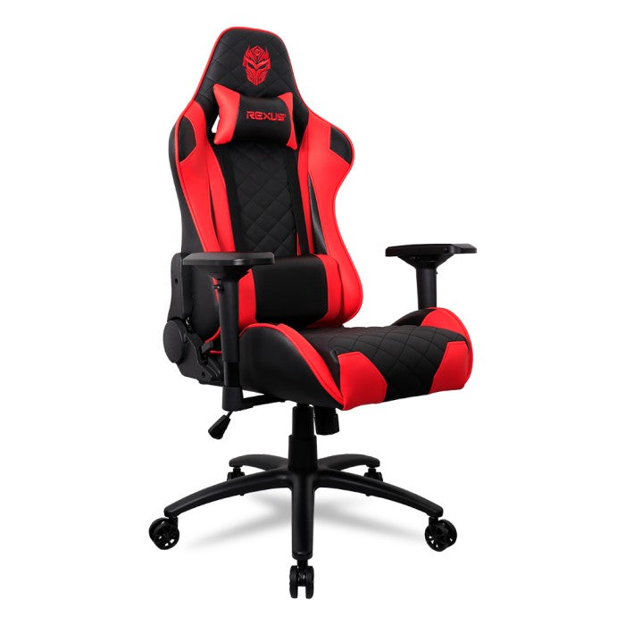 GAMING CHAIR REXUS RGC-101 RED ARMREST 4D