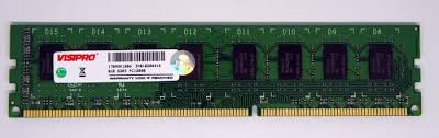 DDR3 VISIPRO 8GB PC12800 - planetcomputeronline