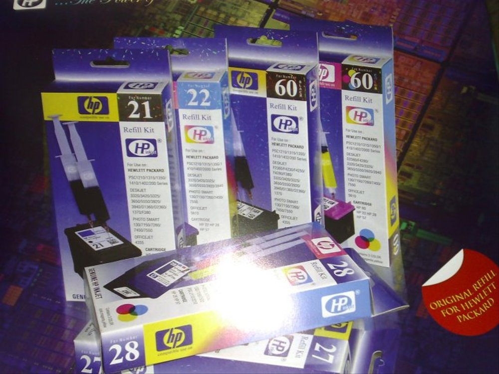 REFILL KIT HP COLOR/22 - planetcomputeronline