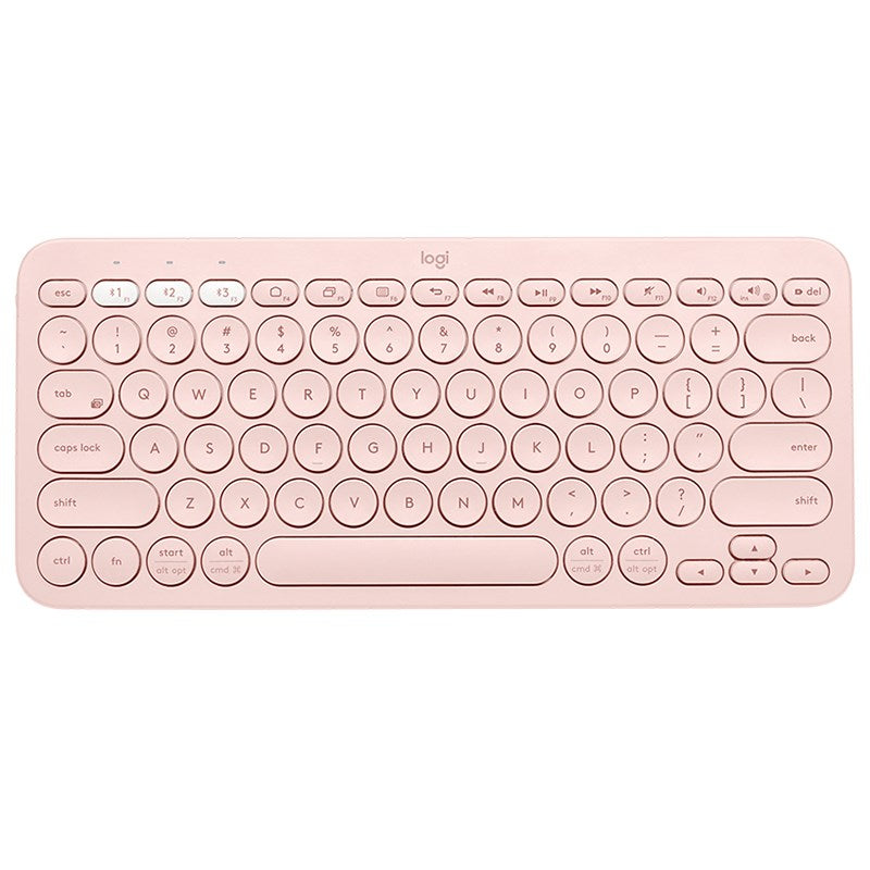 KEYBOARD LOGITECH K380 BLUETOOTH ROSE