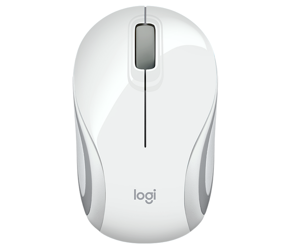 MOUSE LOGITECH WIRELESS M187 WHITE - planetcomputeronline