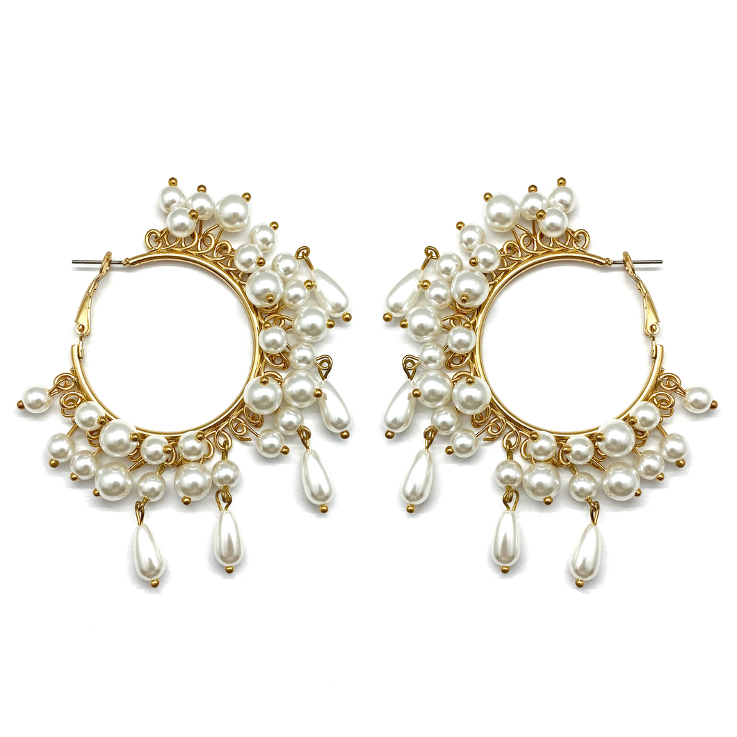 Drops Of Mül Hoop Earrings