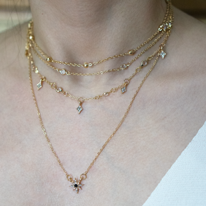 Niveaux Layered Necklace