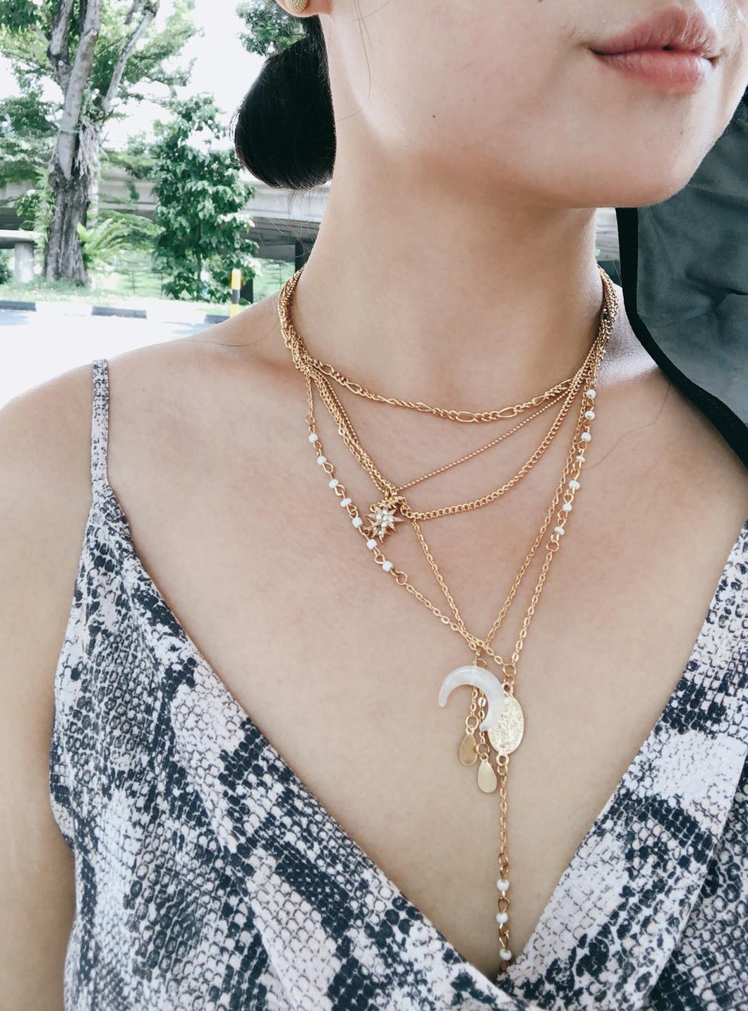 Cire Layered Necklace