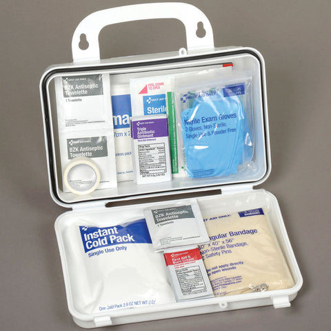 Global Industrial™ Best Value First Aid Kit, 25-Person, Plastic